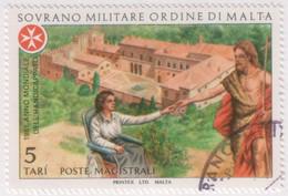 """SMOM - 1981 - Usato - """"Anno Internazionale Del Handicap"""" S. Cpl 2v (rif. 195/96 Cat. Unificato) - Malte (Ordre De)"""