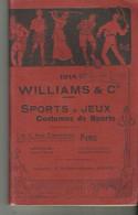 Catalogue Williams Et Cie Sport Jeux  Costumes Sports 1914 144 Pages - 1900-1949