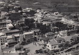 CARTOLINA  JESOLO LIDO,VENEZIA,VENETO,SPIAGGIA,BARCHE A VELA,LUNGOMARE,VACANZA,ESTATE,BAGNI,LIDO,VIAGGIATA 1954 - Venezia (Venice)