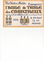 Buvard Huile Des Chartreux - Food