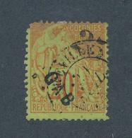 GABON - N° 3 OBLITERE - COTE : 110€ - 1881 - Used Stamps