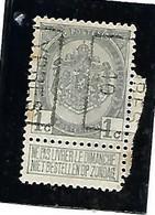 Preo YPRES 1910 Type B ( N° 1497) 1 Ct Nr 81 - Unclassified