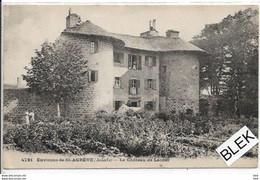 07.  Ardeche  : Saint Agreve  : Le Chateau De Lacour . - Saint Agrève