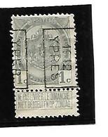 Preo  YPRES 1912  Type B ( N°1882 ) 1 Ct N° 81 - Unclassified