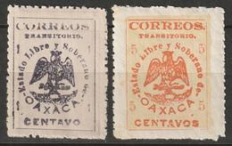 Mexico 1915 Sc 414,418  MH* - Mexico