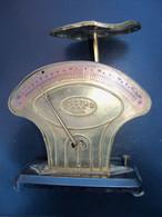 Rare Ancien Pése Lettres RICTUS 1890-1920 Laiton Cuivre TBEG - Briefwaagen