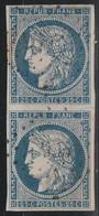 France   .   Y&T    .    60 Paire      .    O    .   Oblitéré    .    /    .   Cancelled - 1871-1875 Ceres