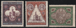 San Marino      .   Y&T    .    23/25    (2 Scans)     .    *    .  Neuf Avec Gomme    .    /    .  Mint-hinged - Unused Stamps