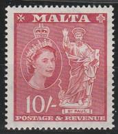 Malta   .    SG      .    281 (2 Scans)     .   **   .     MNH     .    /   .   Neuf SANS Charnière - Malta (...-1964)