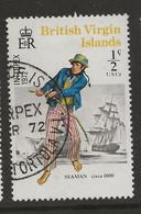 British Virgin Islands, 1972, SG 271, Used - British Virgin Islands