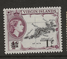 British Virgin Islands, 1962, SG 162, Mint Hinged - British Virgin Islands