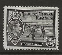 Turks & Caicos Islands, 1938, SG 194, Mint Hinged - Turks And Caicos