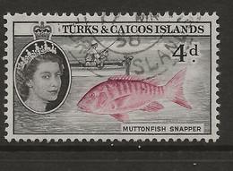 Turks & Caicos Islands, 1957, SG 242, Used - Turks And Caicos