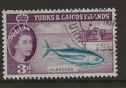 Turks & Caicos Islands, 1957, SG 241, Used - Turks And Caicos