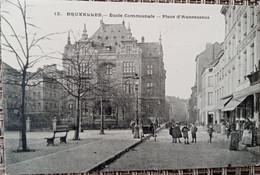 Bruxelles : Place Anneessens - Lanen, Boulevards