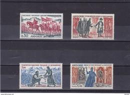 ANDORRE 1963-1964 HISTOIRE Yvert 167-170 NEUF** MNH Cote : 85 Euros - Nuovi