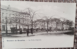 Bruxelles : Porte D'Anvers - Lanen, Boulevards