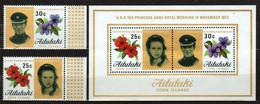 Aitutaki 1973 Mi 80-81, Sheet 1 Royal Wedding - MNH - Aitutaki