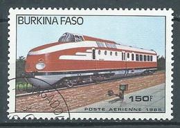 Burkina Faso Poste Aérienne YT N°295 Locomotive Modèle 6093 Oblitéré ° - Burkina Faso (1984-...)
