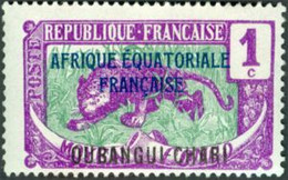 OUBANGUI-CHARI  - Leopard (Panthera Pardus) - Ungebraucht