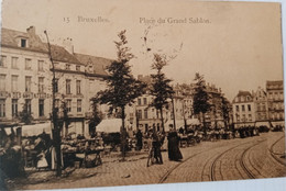 Bruxelles : Place Du Grand Sablon - Lanen, Boulevards