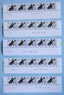 Pinson   10 F    (**)      Bandes  Datées         ( 880955 Bord Gauche Sâle) - 1985-.. Oiseaux (Buzin)