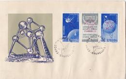 EXPO 58 - Expozitia Universala Bruxelles 1958 - R.P.Romina - Posta Aeriana - Covers & Documents