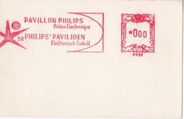 EXPO 58 - Pavillon PHILIPS Poème Electronique / PHILIPS Paviljoen Elektronisch Gedicht - Covers & Documents