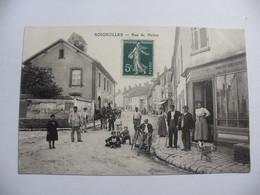 A495  .CPA. 77. SOIGNOLLES. (Seine & Marne). Rue De Melun. Beau Plan Animé. Ecrite & Voyagée 1908 - Other Municipalities