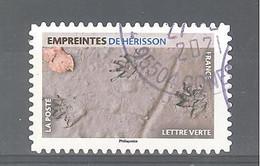 France Autoadhésif Oblitéré N°1962 (Empreintes De Hérisson) (cachet Rond) - Gebruikt