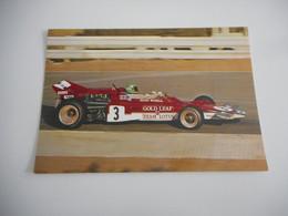 Reine Wisell. Lotus 72 - Gold Leaf Team Lotus. Motor Ford Cosworth DFV. - Grand Prix / F1