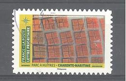 France Autoadhésif Oblitéré N°1949 (Mosaïque De Paysages - Parc à Huîtres - Charente-Maritime) (cachet Rond) - Gebruikt