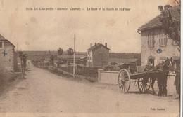 15  LA CHAPELLE LAURENT    La Gare Route De St Flour - Otros Municipios