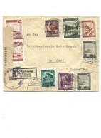 B105 Lettre Recommandé Kalwang Autriche 08-07-45 Pour Croix Rouge Genève Censuré Zone Britannique - Storia Postale