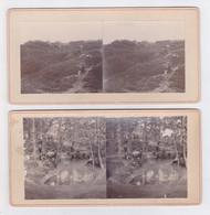 Paar Stereofoto's Van Bergen, Noord Holland - 1910-1920 - Altri