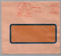 LE PETIT NEGRO - RACISME / 1955 PARIS EMA PUBLICITAIRE ILLUSTREE SUR LETTRE (ref LE4448) - Other