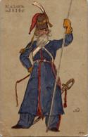 Russia 1915 Cossack 1814 St. Eugenia Red Cross - Russia