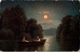Russia Imperial Tsarist 1910s Silence Of Night Kondratenko Red Cross St Eugenia - Scenes & Landscapes