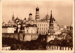 USSR 1929s Moscow View Of The Kremlin From The West Mosreklamspravizdat - Russia