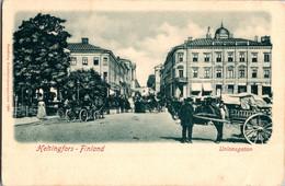 Russia Imperial Tsarist 1900s Finland Helsingfors Helsinki Uniosgatan - Finland