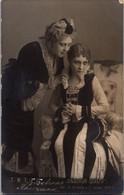 Russia Imperial Tsarist 1910s Gzovskaya Yablochkina Mad Money Theater Actress - Theatre