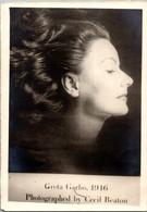 USA 1950s Greta Garbo Cecil Beaton Movie Actress - Actors