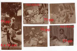 PLOIESTI (or Surroundings) 1916-1918 - LOT OF 25 PHOTOS - GYPSIES AND MAHALA - Rumania