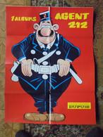 Agent 212  Affiche Promotionnelle 1987 Format 60 X 78 Kox Dupuis Bon Etat - Affiches & Offsets