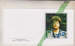 Gabrielle Van Parys-Hallaert, Kanegem 1927, Tielt 2000 - Esquela