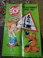 Boule Et Bill  Affiche Promotionnelle  1985 Format 60 X 40 Roba Bon Etat - Affiches & Offsets