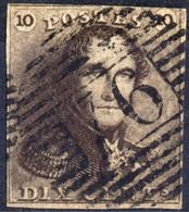 1849 - Nr 1 - Dix Cents (°) 76 Maeseyck - 1849 Hombreras
