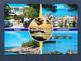 SAVUDRIJA UMAG - CROATIA, Postcard 1970`s  (Lot2) - Croacia