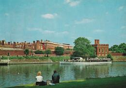Hampton Court Palace - Middlesex - View Across River Thames - Formato Grande Non Viaggiata – FE190 - Unclassified