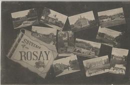 CPA - Souvenir De Rosay - Other Municipalities